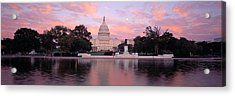 Us Capitol Washington Dc Acrylic Print