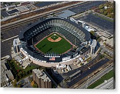 Us Cellular Field Chicago Sports 08 Acrylic Print by Thomas Woolworth