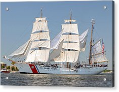 Us Coast Guard Eagle Acrylic Print