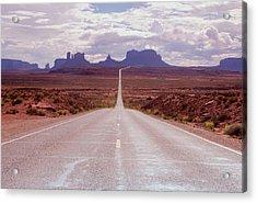 Us Highway 163 Acrylic Print