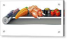 Us Inflation Index Acrylic Print