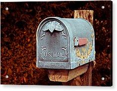 U.s. Mail Approved Acrylic Print by Eti Reid