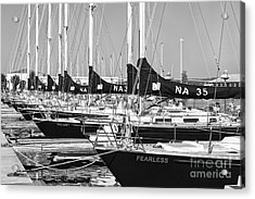 Us Navy 44 Sail Training Craft II Acrylic Print