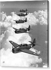 U.s. Navy Torpedo Bombers Acrylic Print