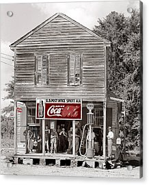 U.s. Post Office General Store Coca-cola Signs Sprott  Alabama Walker Evans Photo C.1935-2014. Acrylic Print