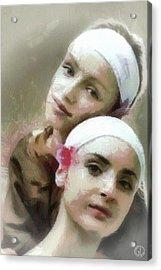 Us Two Acrylic Print by Gun Legler