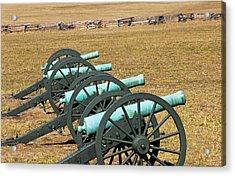 Usa, Arkansas Civil War Cannons At Pea Acrylic Print by Jaynes Gallery