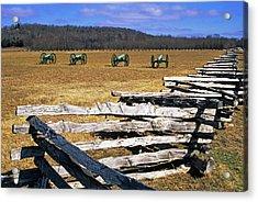 Usa, Arkansas Split-rail Fence Acrylic Print