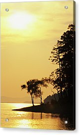 Usa, Arkansas Sunset On Lake Ouachita Acrylic Print by Jaynes Gallery
