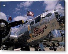 Usa, B-17 Bomber Aircraft, Salinas Acrylic Print