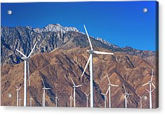 Usa, California, Palm Springs, Wind Farm Acrylic Print by Tetra Images