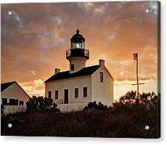 Usa, California, San Diego, Old Point Acrylic Print