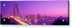 Usa, California, San Francisco, Bay Acrylic Print by Panoramic Images