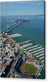 Usa, California, San Francisco Acrylic Print by David Wall