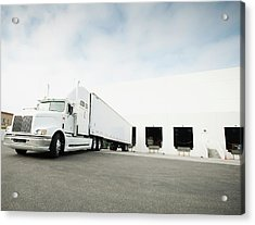 Usa, California, Santa Ana,truck Acrylic Print