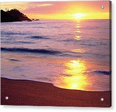 Usa, California, Sunset Acrylic Print