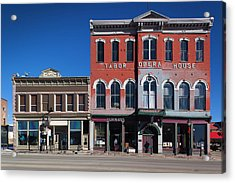 Usa, Colorado, Leadville, Historic Acrylic Print