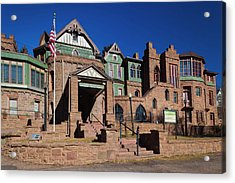 Usa, Colorado, Manitou Springs Acrylic Print
