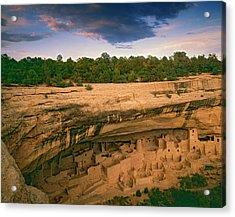 Usa, Colorado, Mesa Verde National Park Acrylic Print by Jaynes Gallery