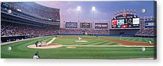 Usa, Illinois, Chicago, White Sox Acrylic Print