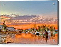 Usa, Maine, Acadia, Bass Harbor Acrylic Print by Jaynes Gallery