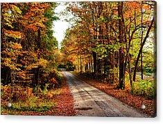 Usa, Maine, Bethel Acrylic Print by Bill Bachmann