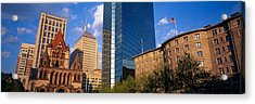 Usa, Massachusetts, Boston, Copley Acrylic Print by Panoramic Images