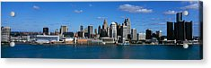 Usa, Michigan, Detroit Acrylic Print