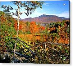 Usa, New England, New Hampshire Acrylic Print