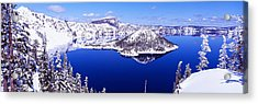 Usa, Oregon, Crater Lake National Park Acrylic Print by Panoramic Images