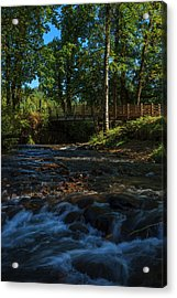 Usa, Oregon, Scio, Crabtree Creek Acrylic Print