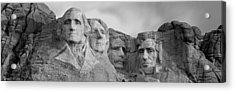 Usa, South Dakota, Mount Rushmore, Low Acrylic Print by Panoramic Images