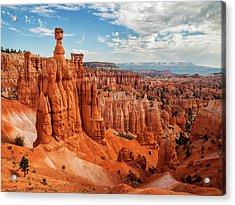 Usa, Utah, Bryce Canyon National Park Acrylic Print by Ann Collins
