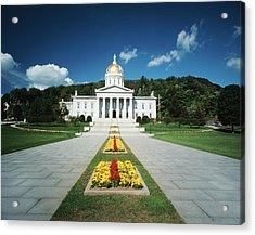 Usa, Vermont, Montpelier, Vermont State Acrylic Print