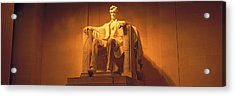 Usa, Washington Dc, Lincoln Memorial Acrylic Print by Panoramic Images