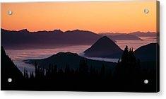 Usa, Washington, Mount Rainier National Acrylic Print by Panoramic Images