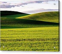 Usa, Washington State, Palouse, Rolling Acrylic Print