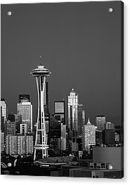 Usa, Washington State, Seattle, Space Acrylic Print by Adam Jones