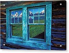 Usa, Wyoming, Grand Teton National Acrylic Print