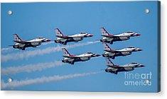U.s.a.f. Thunderbirds Acrylic Print