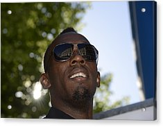 Usain Bolt - The Legend 1 Acrylic Print