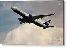 Usair Airbus Acrylic Print