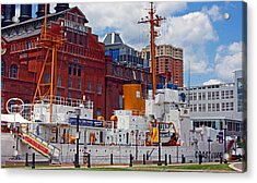 Uscg Cutter Taney Acrylic Print by Andy Lawless
