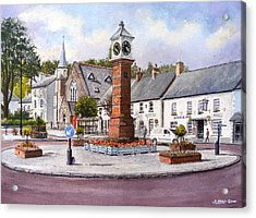 Usk In Bloom Acrylic Print by Andrew Read