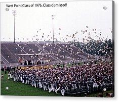 Usma Class Of 1976 Acrylic Print