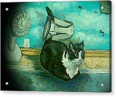 Uss Catboat Acrylic Print