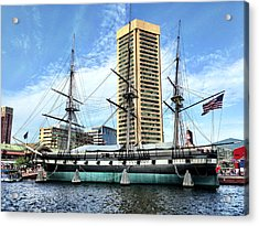 Uss Constellation Acrylic Print
