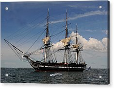 Uss Constitution - Featured In Comfortable Art Group Acrylic Print