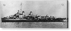 U.s.s. Destroyer Walke Acrylic Print