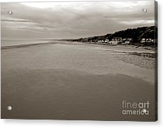 Utah Beach Acrylic Print by Olivier Le Queinec